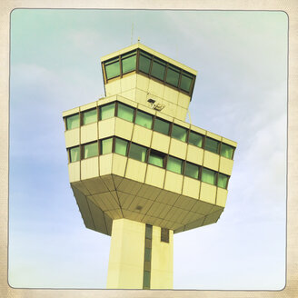 Airport Tower. Berlin Tegel, Germany. - ZM000116