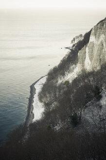 Germany, Mecklenburg-Western Pomerania, Ruegen, Jasmund National Park in winter - MJF000715