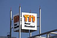 Germany, North Rhine-Westphalia, Dusseldorf,  Trade fair grounds - WI000320
