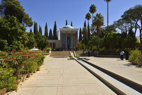 Iran, Shiraz, Mausoleum of the Persian poet Saadi Shirazi - ES000961