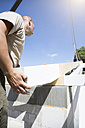 Construction of a residential house, assembling of the roof - FKF000368