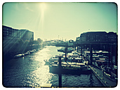 Germany, Hamburg, harbor views - KRPF000168