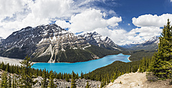 Canada, Alberta, Rocky Mountains, Jasper National Park, Banff National Park, Peyto Lake - FOF005633