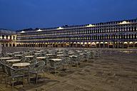 Italy, Venice, St Mark's Square at night - FOF005698