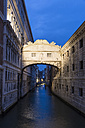 Italy, Venice, Bridge of Sighs - FOF005948
