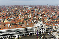 Italy, Venice, View from Campanile to St. Mark's Square and Procuratie - FOF005954