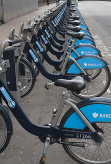 United Kingdom, England, London, Barclays Cycle Hire - JB000006