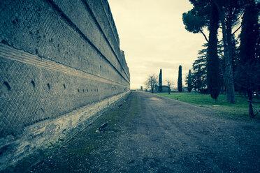 Italy, Tivoli, wall of Hadrian's Villa - DIS000416
