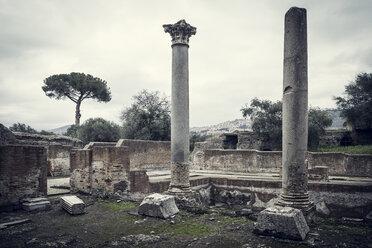 Italy, Tivoli, view to Hadrian's Villa - DIS000414
