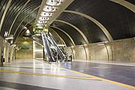 Germany, North Rhine-Westphalia, Cologne, Underground station Heumarkt - WG000214
