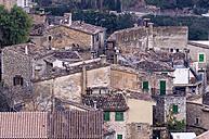 Spain, Balearic Islands, Mallorca, Valldemossa, S'Arxiduc, Old houses - THAF000012