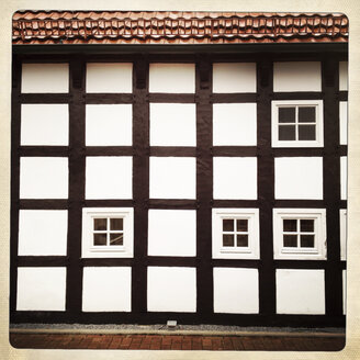 Timbered farm house built in 1802, Bueltmannshof, Bielefeld, Germany - ZMF000184