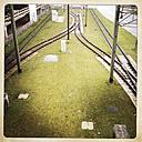 Tram tracks at University of Bielefeld, Germany - ZMF000179