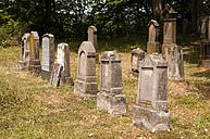 Germany, Rhineland-Palatinate, Beilstein, old gravestones at Jewish graveyard - WG000219