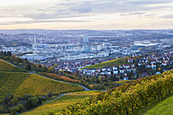 Germany, Baden-Wuerttemberg, Stuttgart, view to industrial area of Untertuerkheim - WDF002236