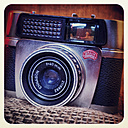 old analogue camera, Braun Paxette electromatic with lens Ennagon 40, studio - HOH000422