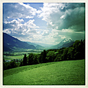 Overlooking the Enns Valley with Grimming, Styria, Austria - DISF000499