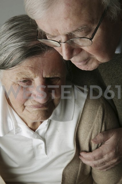 Portrait of senior couple, close-up - JATF000642 - Jan Tepass/Westend61