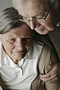 Portrait of senior couple, close-up - JATF000642