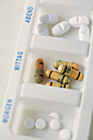 Pill organizer, close-up - JATF000654