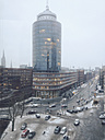 View of the Hamburg Trade Center in the warehouse district, Hamburg, Germany - SEF000554