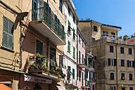 Italy, La Spezia Province, Liguria, Riomaggiore, houses - AMF001785