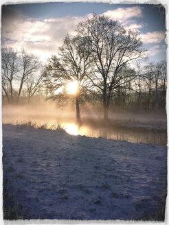 Snow landscape, Landshut, Germany - SARF000234