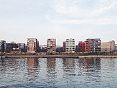 View of Ostend, the right bank of the Main in Frankfurt, Hesse, Germany - MSF003242