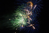 Fireworks in the night sky - EGF000010