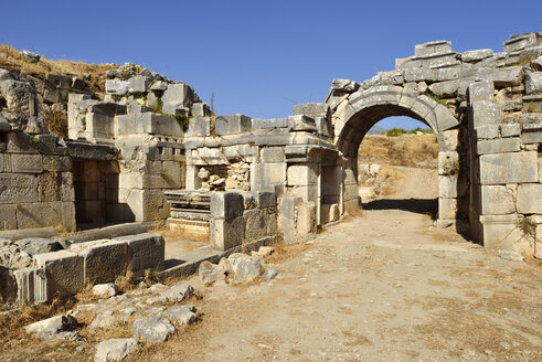 Turkey, Antalya Province, antique theater, archaeological site of Xanthos - ES000978