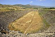 Turkey, Aydin Province, Caria, antique stadium at the archaelogical site of Aphrodisias - ES000975