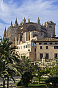 Spain, Majorca, Palma, Cathedral La Seu - THAF000061