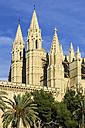 Spain, Majorca, Palma, Cathedral La Seu - THAF000071