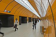 Germany, Bavaria, Munich, underground station - LA000577