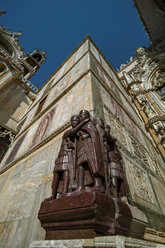 Italy, Venice, Sculptures at St. Mark's Cathedral - EJWF000292