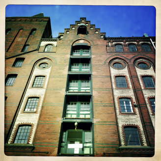 Old Warehouse District, Speicherstadt, Hamburg, Germany - ZMF000231