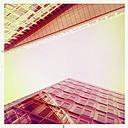Modern glass facades, Hamburg, Germany. - ZMF000230