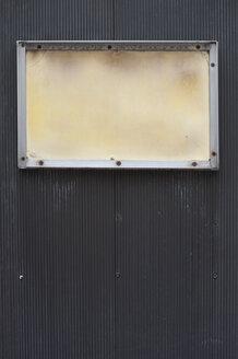 Empty frame on black ground - MUF001417