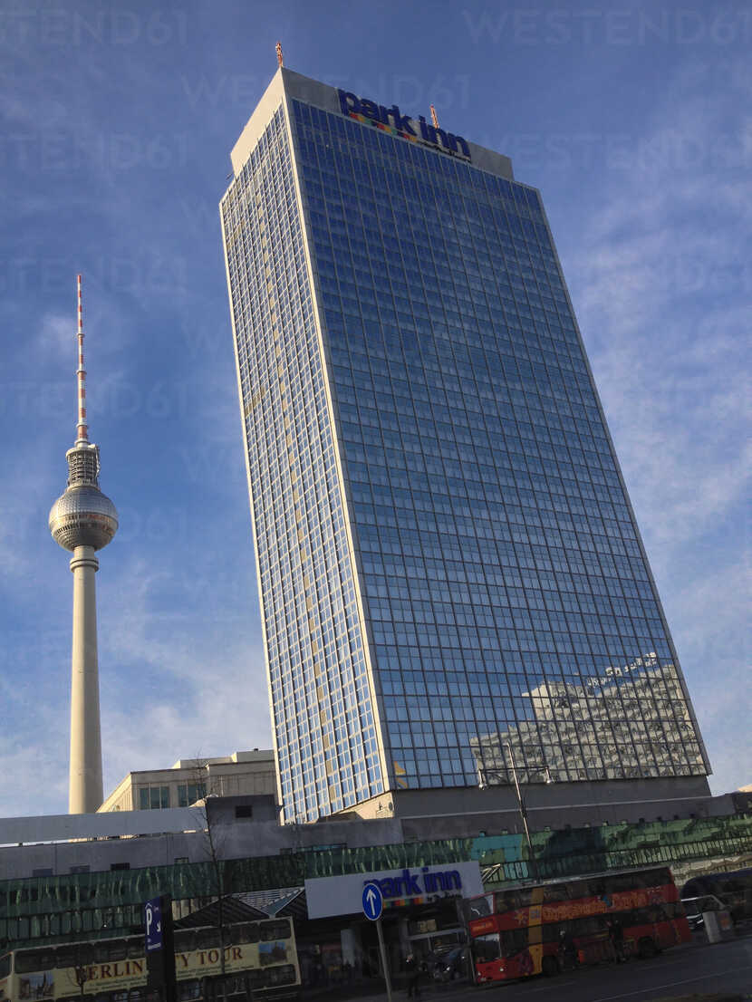 TV-Tower and Park Inn Hotel, Berlin, Germany - FBF000234 - Frank Blum/Westend61
