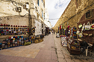 Morocco, Essaouira, Bani Antar, Old Medina, market in an alley - THA000087