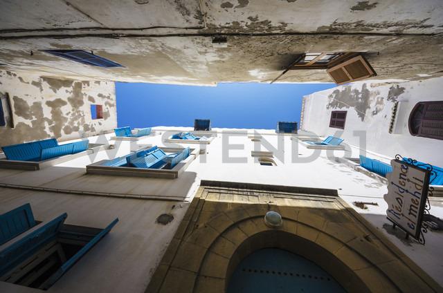 Morocco, Essaouira, Old Medina, house fronts - THAF000113 - Thomas Haupt/Westend61