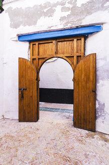 Morocco, Essaouira, Old Medina, gate - THAF000125