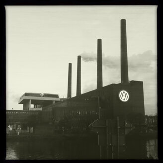 Volkswagen factory building, Wolfsburg, Germany - ZMF000252