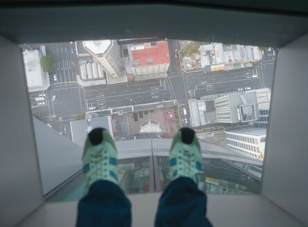 New Zealand, North Island, Auckland, view from Sky Tower - JB000058
