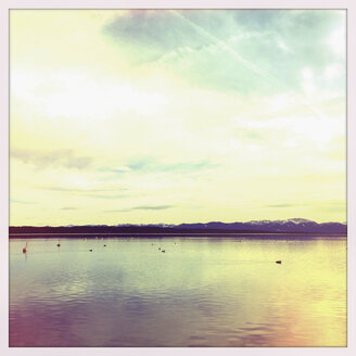 Overlooking the Alps, Lake Starnberg Tutzing, Bavaria, Germany - GSF000756