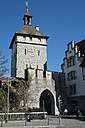 Germany, Baden-Wuerttemberg, Constance district, Constance, Schnetztor, city gate - ELF000855