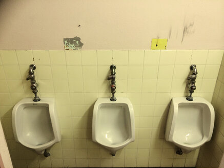 Urinals in the Albert-Ludwigs University in Freiburg, Baden-Wurttemberg, Germany - DHL000348