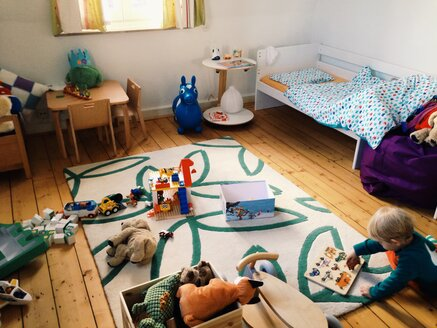 Kids play and bedroom in Bonn, North Rhine-Westphalia, Germany - MEA000219