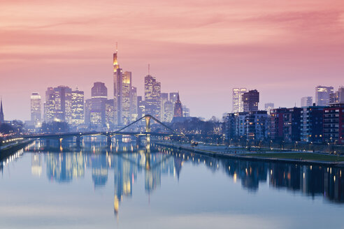 Germany, Hesse, View of Frankfurt am Main - MSF003365