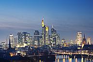 Germany, Hesse, View of Frankfurt am Main - MSF003381